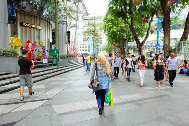 belanja di orchard singapore