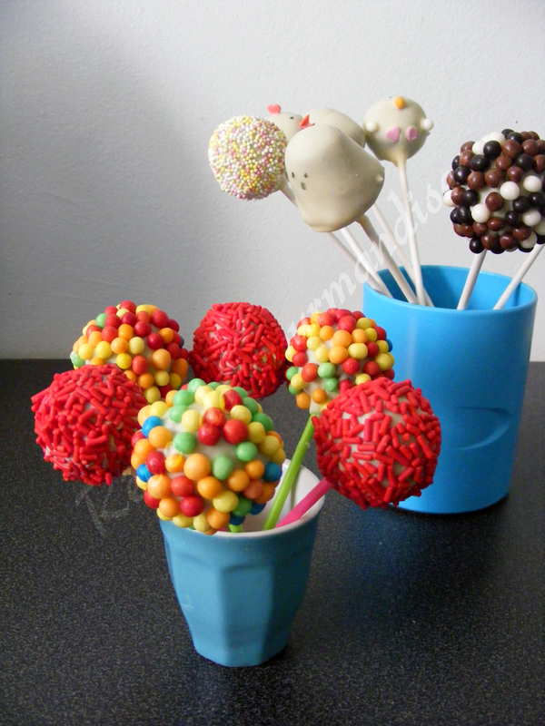 Recette Cake Pops F Ef Bf Bderie Caie