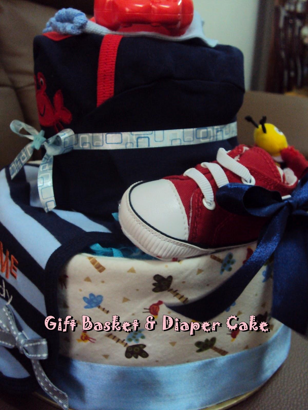 Kay's Gift Basket & Diaper Cake