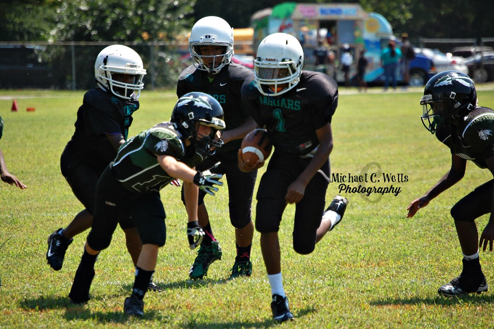 Michael C. Wells Photography: East End Warriors Juniors Vs Louisville  Jaguars