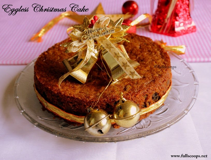 Eggless Apple Spice Cake Recipe