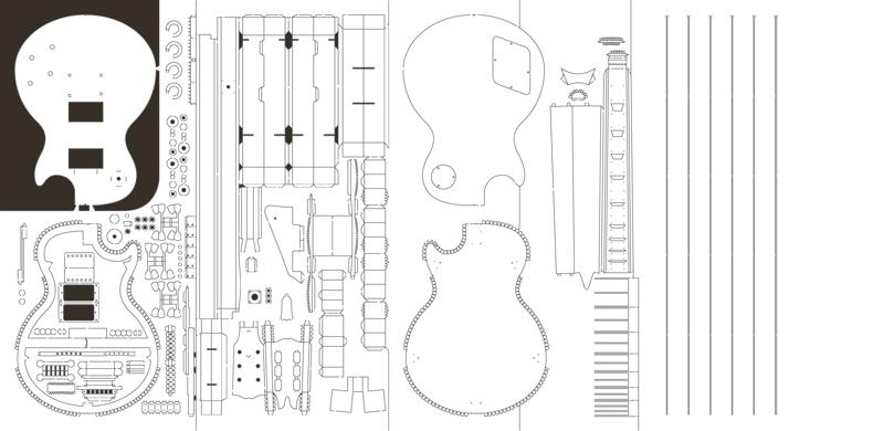 Как сделать инструменты из бумаги