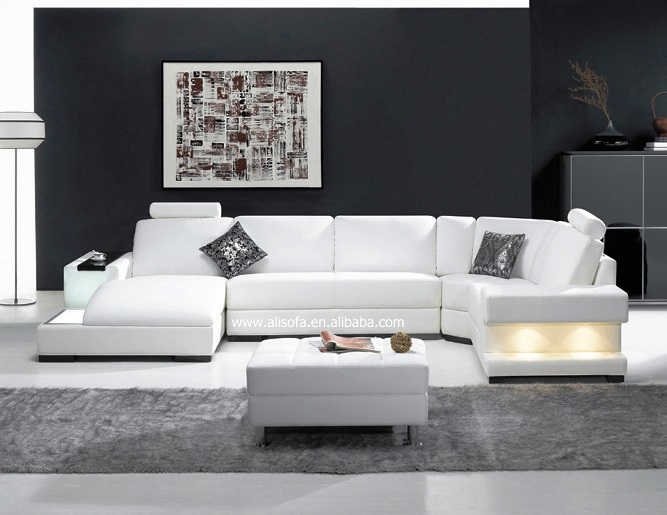 Modern European Furniture Sets White Design Ideas For Living Room With  Unique Wall Decor Best Black Matching Wall Painting Color And White Ceramic  Tiles ...