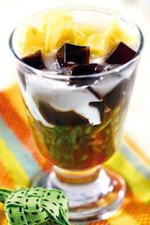 Resep Membuat Es Cendol Cincau Nangka Lezat - resep enak lezat