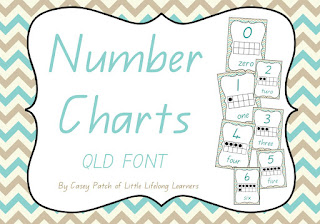 https://www.teacherspayteachers.com/Product/Chevron-Number-Charts-QLD-FONT-1716120