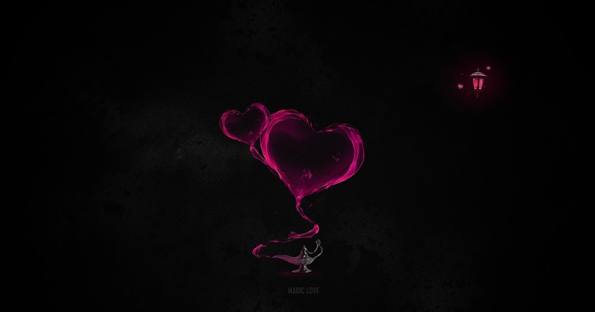 No Love Wallpaper Hd : Abstract Heart Love Black Minimalistic Lamps Magic HD Wallpaper Love Wallpapers Romantic ...