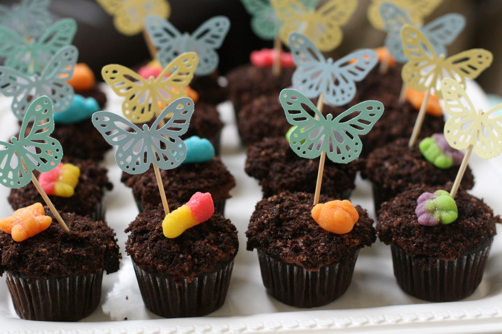 A Bug Birthday Party I Almost Bugged Out Week Of Menus - Bug cupcake decorating ideas