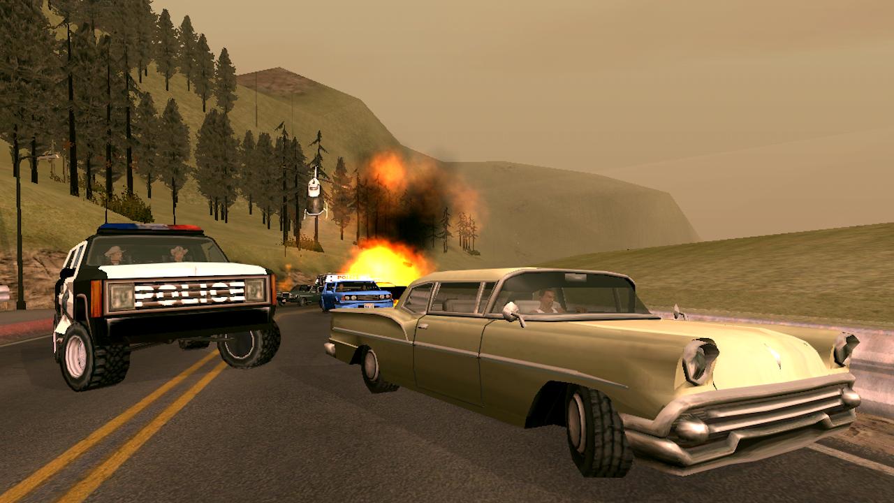 GTA San Andreas Android Screen Shot