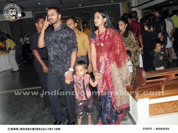 Actor Jayasurya Family