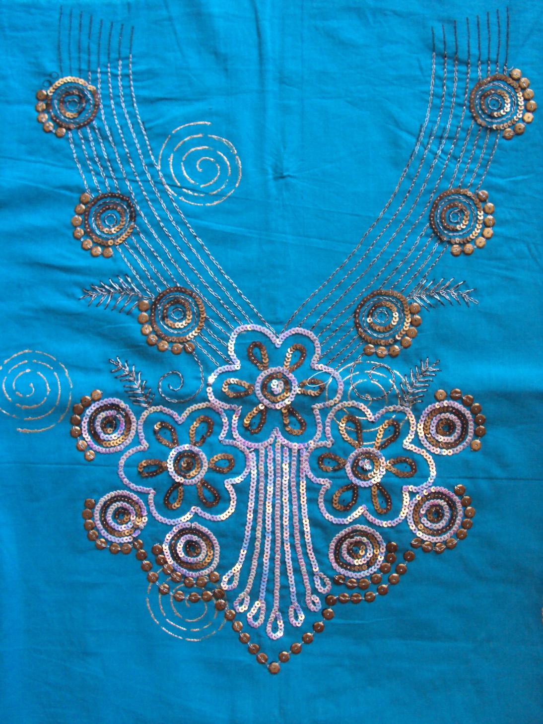 Zari embroidery machine makaroka