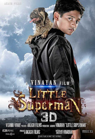 Poster Of Little Superman In Hindi Dubbed 300MB Compressed Small Size Pc Movie Free Download Only At exp3rto.com