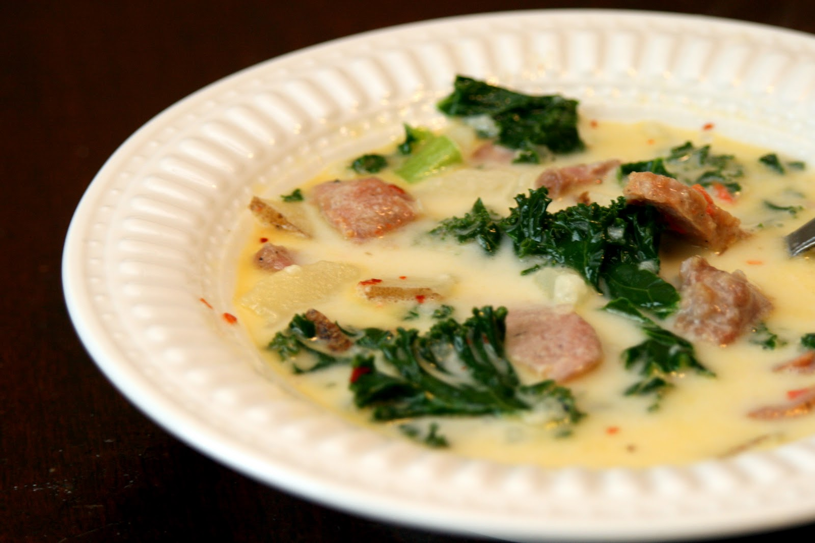 Treasuring Life's Blessings: Zuppa Toscana Soup