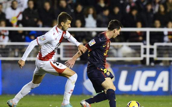 Foto Pertandingan Barcelona Vs Rayo Vallecano