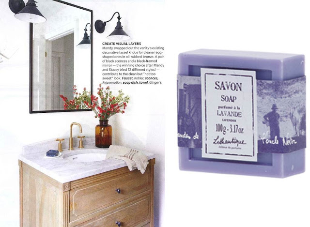 Lothantique Press: Vintage Revival ~House & Home Magazine March 2013