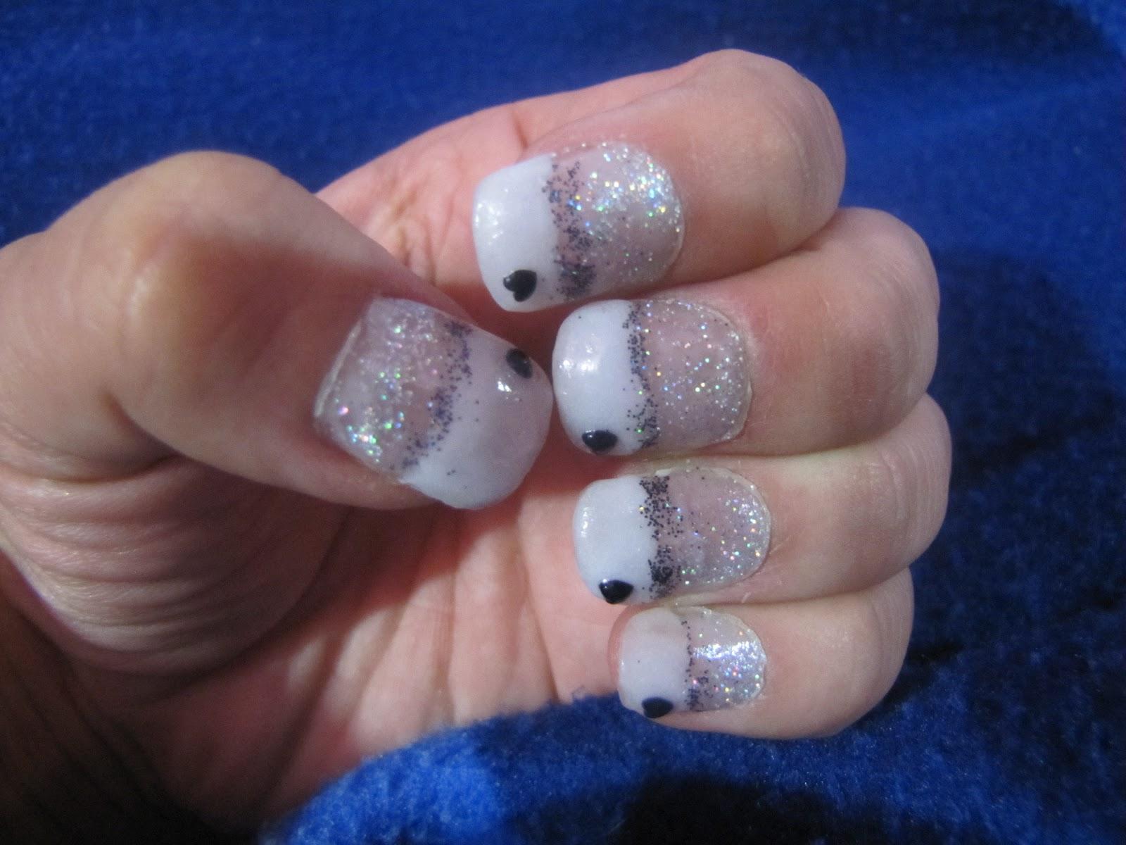 Nails by Tenshi: Diseño de fiesta de noche