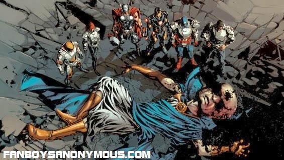 Captain America Steve Rogers and the Avengers answer the call in Marvel's new main story arc crossover Original Sin