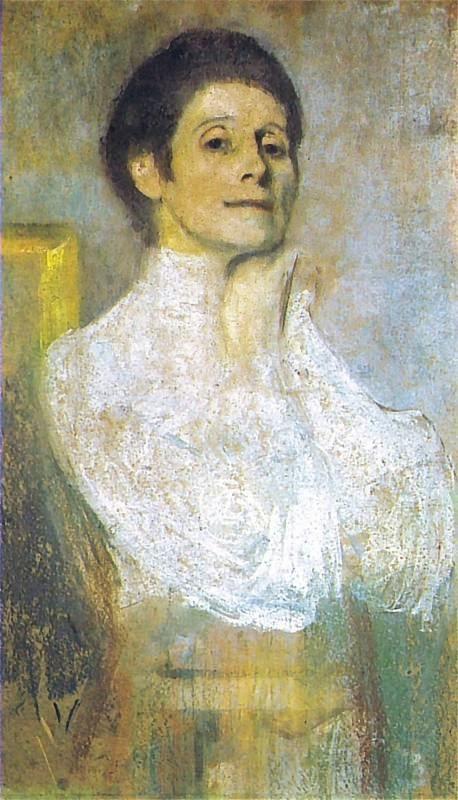Olga Boznańska - Autoportret