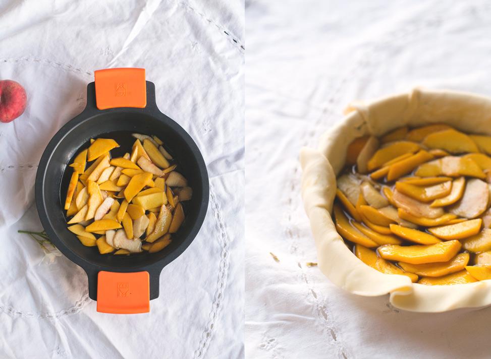 La Cocina de Carolina: Tarta de melocotón