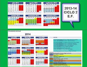TEMPORIZACION 2013-14 CICLO 2