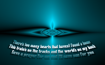 Save A Prayer - Bon Jovi Song Lyric Quote in Text Image