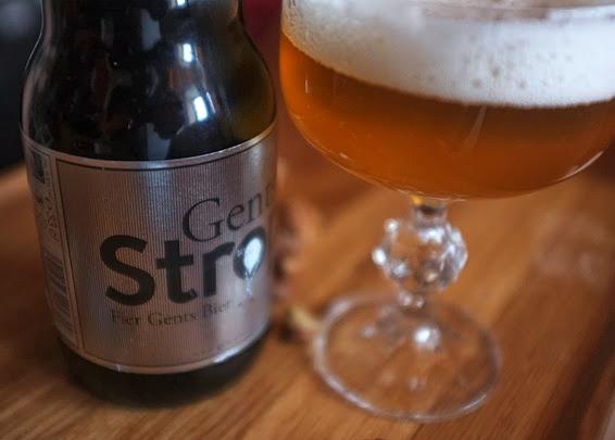 Бельгийское светлое пиво Gentse Strop