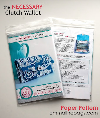The Necessary Clutch Wallet Sewing Pattern