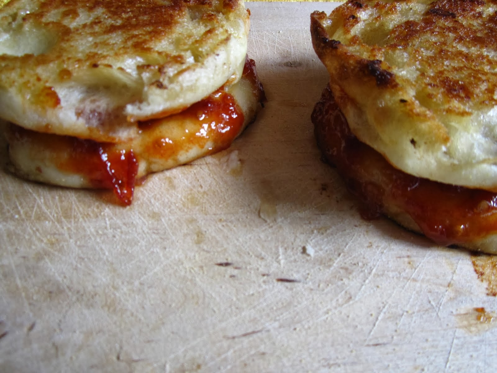 Tomato Jam (On a Grilled Cheese Sandwich)