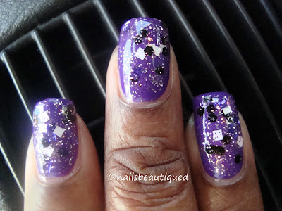 Illamasqua Properity and All That Glitters Purple Haze