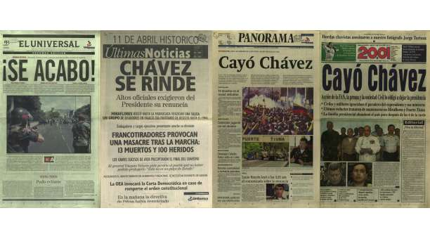 La llamada de Fidel a Chávez el 12 de abril de 2002, ¡No te inmoles! -11 Abril 2012