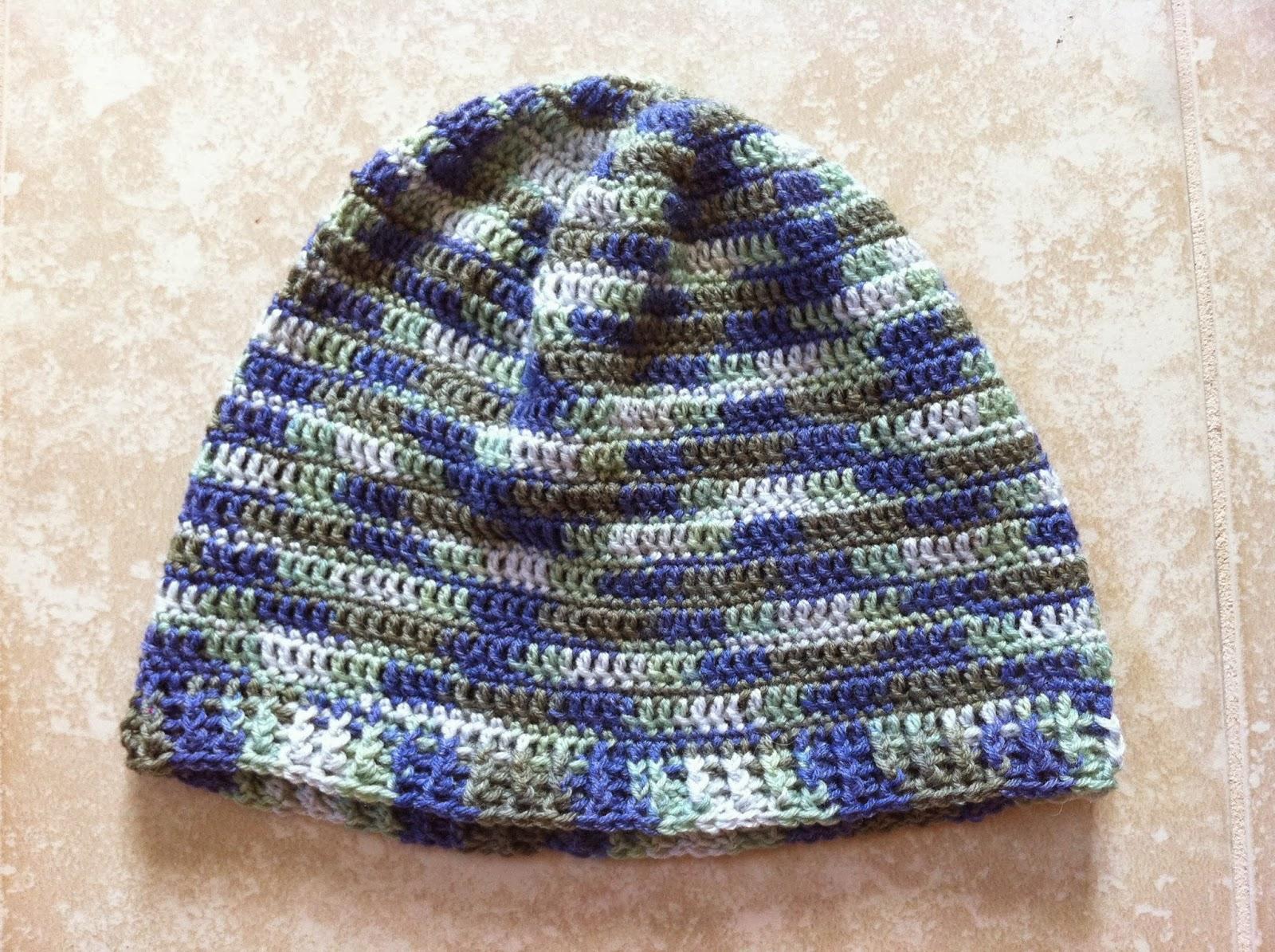 Lightweight Crochet Adult Beanie Hat - Free Pattern | Not My Nana\'s ...