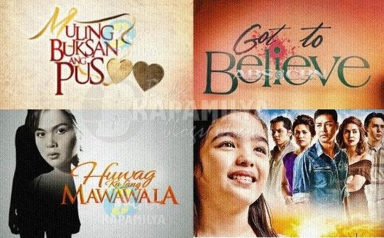 ABS-CBN upcming programs for 2013: Muling Buksan Ang Puso, Huwag Ka Lang Mawawala, Got To Believe, Annaliza