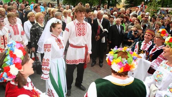 Обычаи и традиции белорусской свадьбы