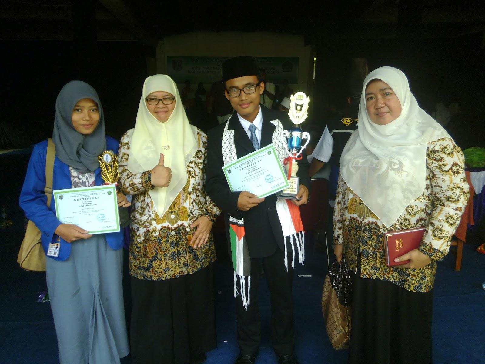 Selamat Atas Prestasi SMK Charnoest Yang Berhasil Menjuarai Lomba MTQ dan Pidato pada kegiatan MGMP PAI Kota DePOK