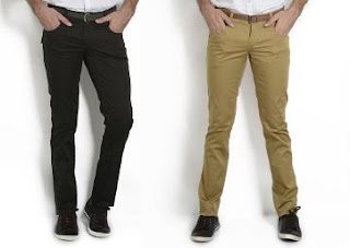 Flat 40% Extra Discount: Men's Branded Trousers just for Rs.407 Only