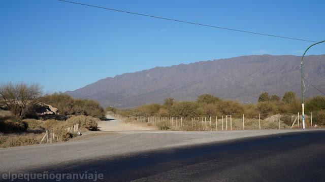 Trekking San Juan, Cerro Parkinson, ascenso, zonda