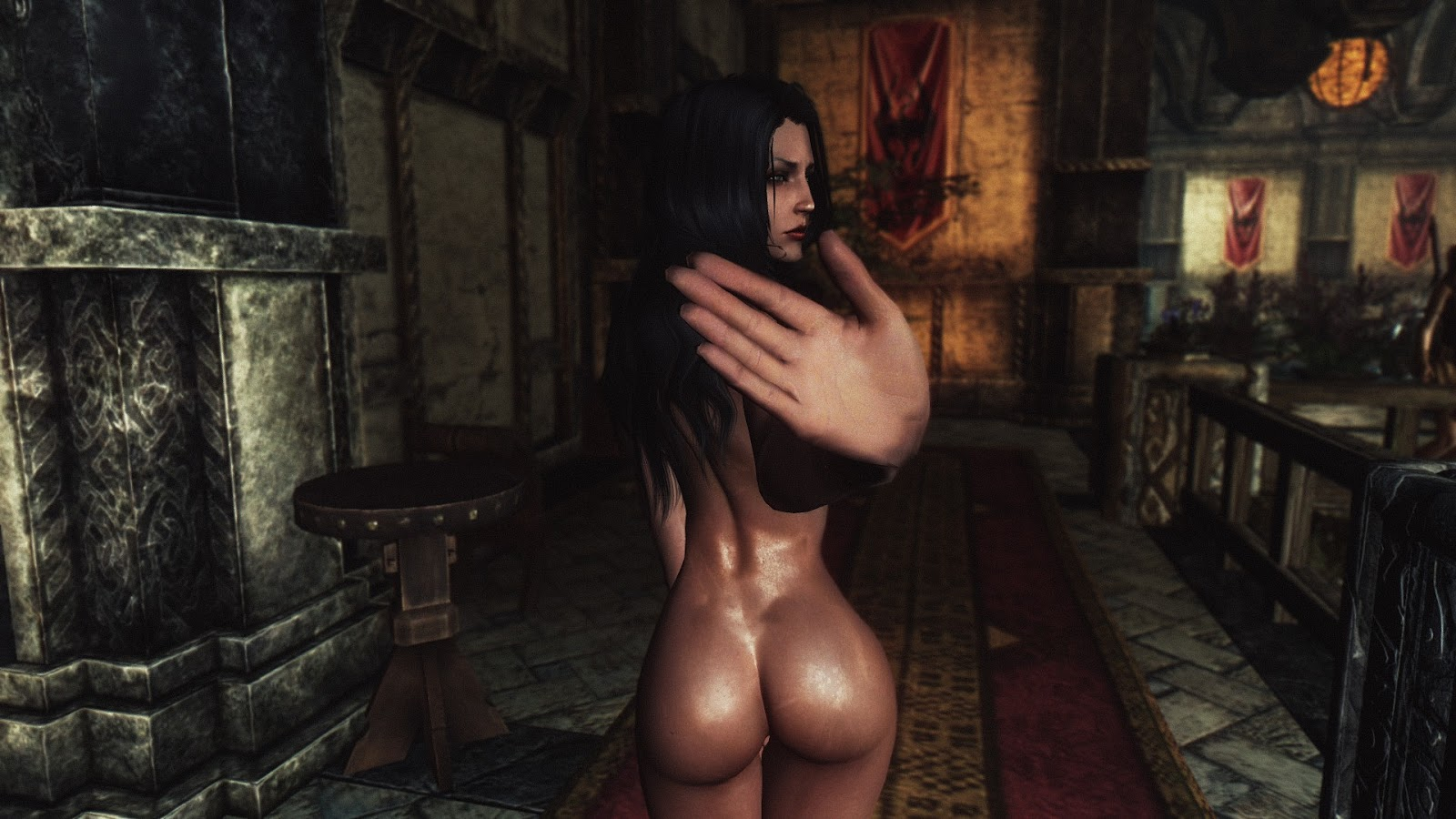 Nude patch in skyrim porncraft tube