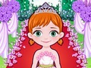 Frozen Baby Anna Flower Girl