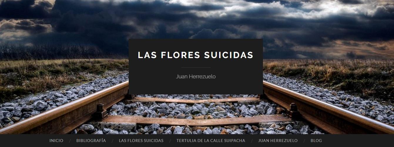 Web Las flores suicidas