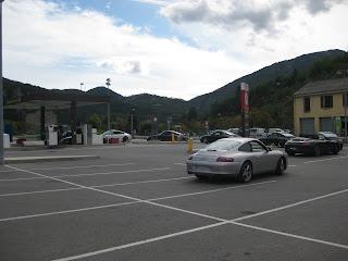En route pour le Paradis Porsche 2012
