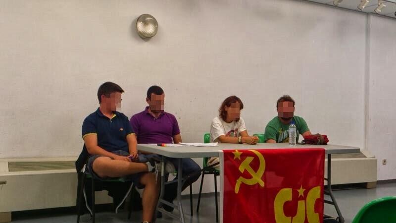 [CJC Madrid norte] Acto contra el Paro Juvenil en AlcoSanse: Luchar por la salida de la OTAN, la UE y el Euro.  Actoue+2