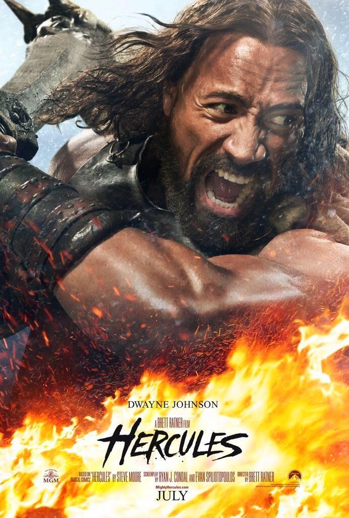 """Dwayne Johnson vuelve en un personaje épico: """"Hércules"""""""