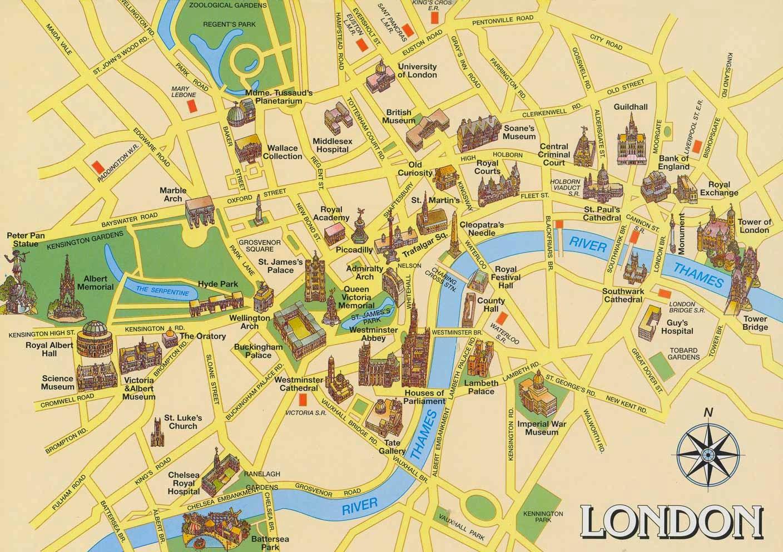 centro londres, mapa, london, turismo londres