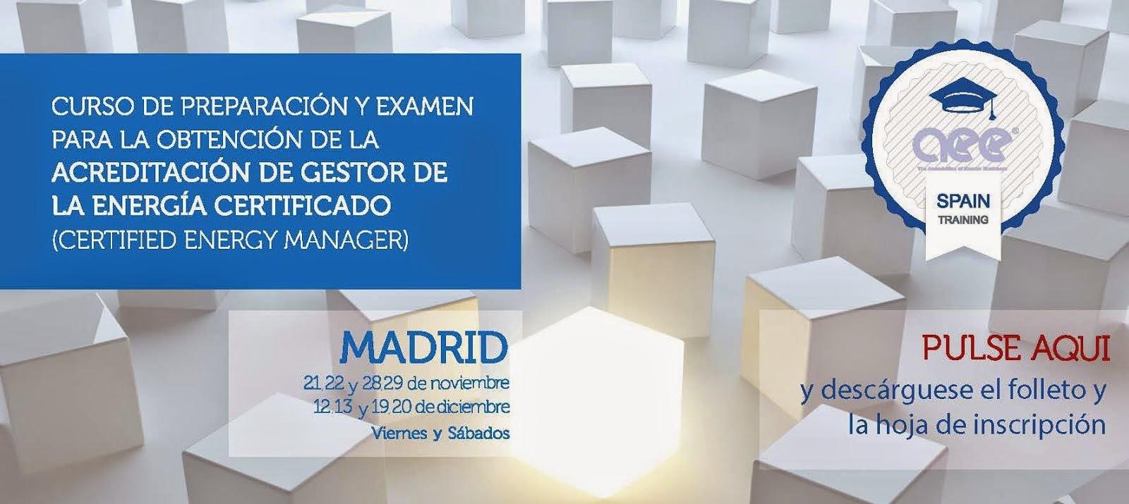 Curso CEM PT Madrid Nov-Dic14