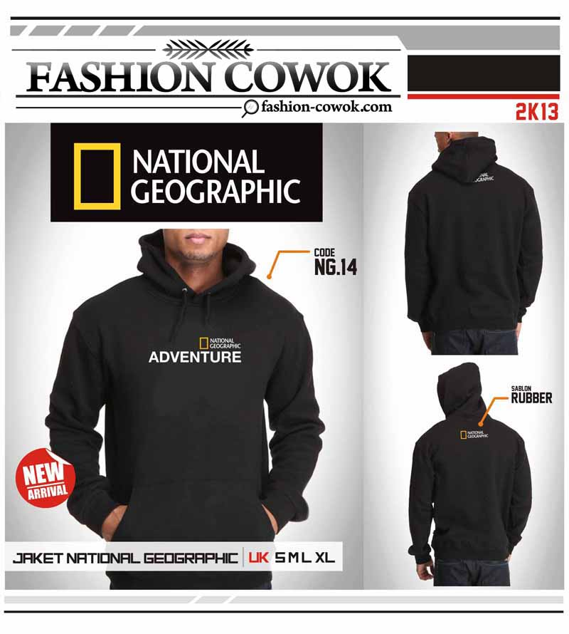 Jaket National Geographic - Adventure