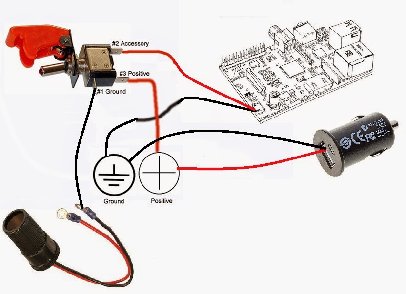 By using this switch I can turn RPi on/off independently of whether the engine is running or not. Wiring diagram so the LED can actually work  sc 1 st  blogger : led toggle switch wiring diagram - yogabreezes.com