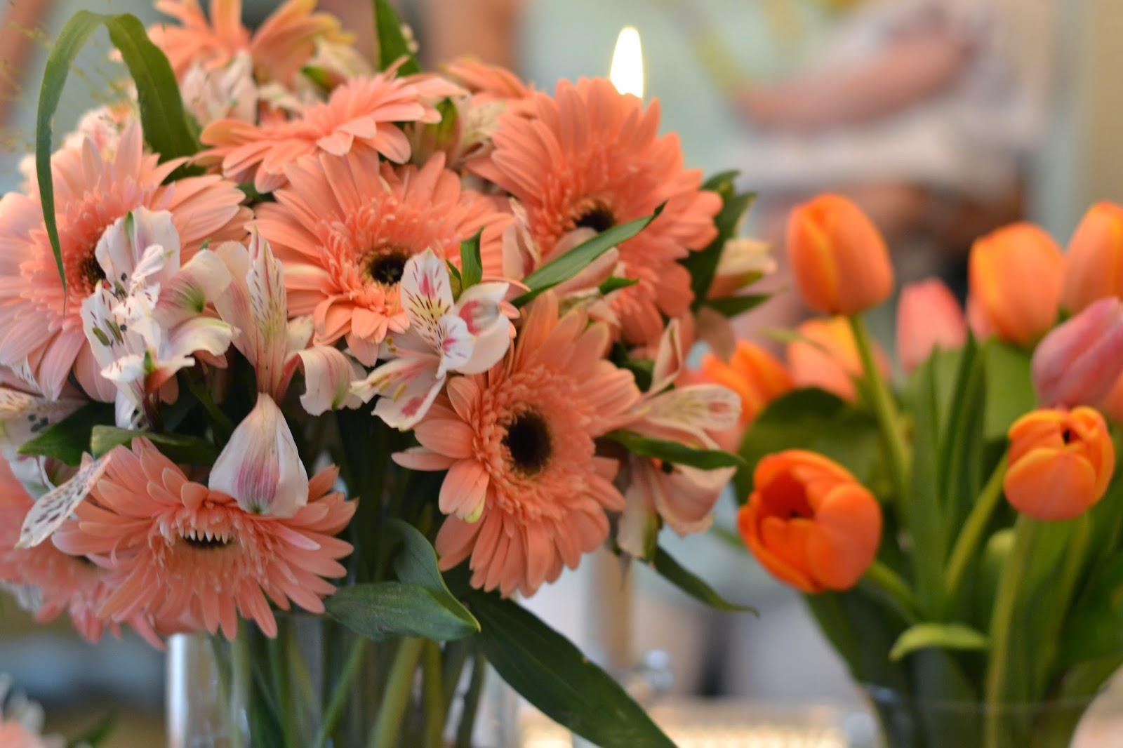 Southland Avenue Trader Joes Floral Centerpieces