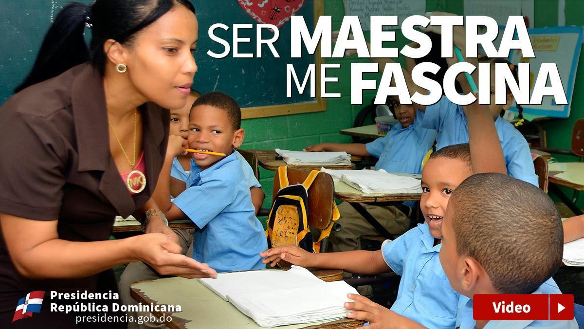 Ser maestra me fascina