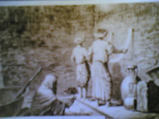لوحة من أيام الحملة الفرنسية على مصر تصور الكنفانى