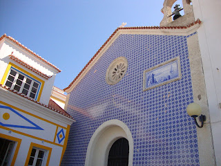 Nazaré Beach Santo António Church photo