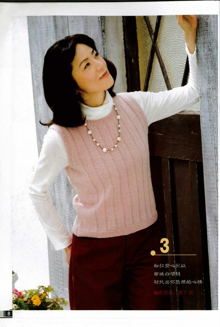 Женские модели спицами. Журнал со схемами
